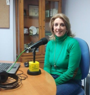 Josefina Herrera en Radio Ubrique