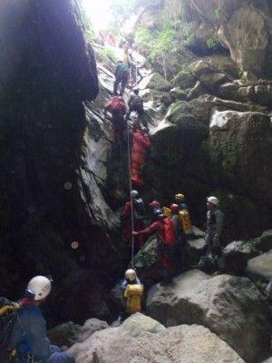 Rescate Cueva Motilla 2