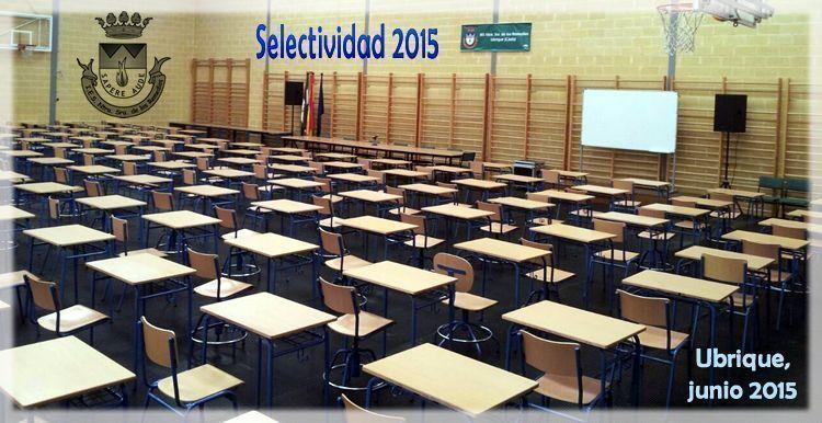 Selectividad 2015 2