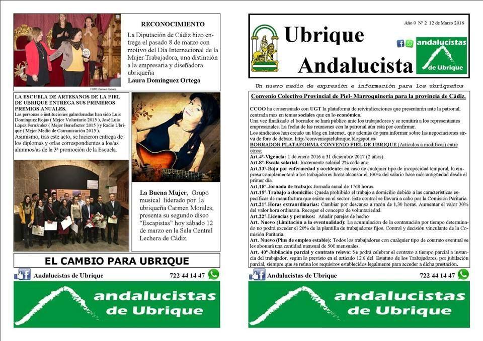 Ubrique Andalucista