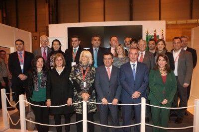 Autoridades de la provincia de Cádiz hoy en Fitur 2013