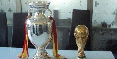 Los trofeos del Mundial y la Eurocopa, la próxima semana en Ubrique