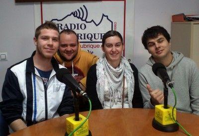 Diógenes Gago, Jesús Viruez, Verónica  Díaz y Claudio Becerra