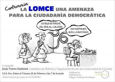 Conferencía LOMCE