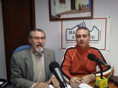José García Solano y Manuel Ramírez en Radio Ubrique
