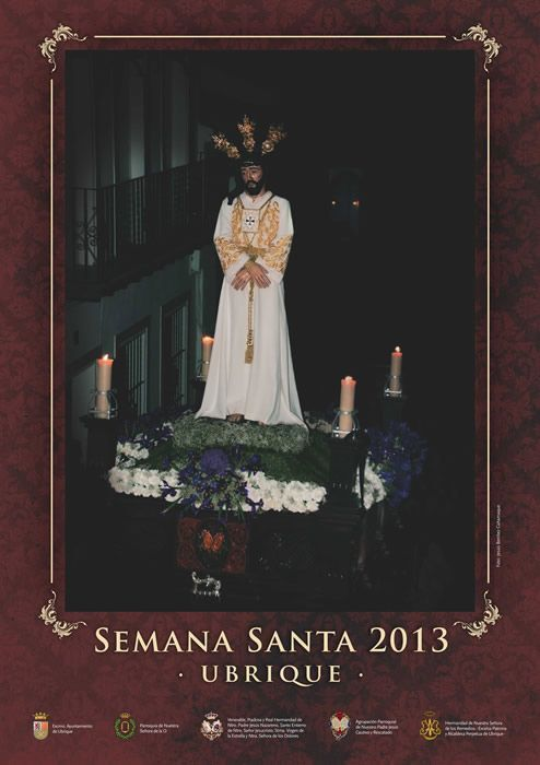 cartel_semana_santa_ubrique_2013 del Cautivo