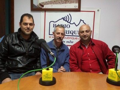 Pepe Lamela, Carlos Carretero y Daniel Lamela