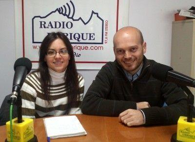 Sandra Atienza y José A.. Bautista