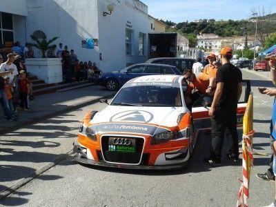 Llegada del nuevo Audi Quattro DTM de Fombona esta tarde a Ubrique