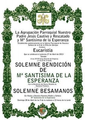 cartel_bendicion_virgen_esperanza