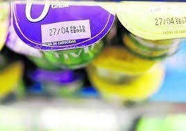 fecha caducidad yogures