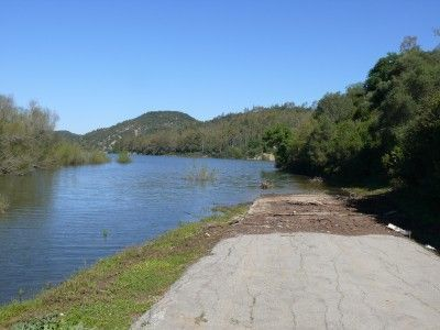 carretera pantano cortada