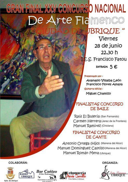 cartel_final_25_concurso_arte_flamenco_ubrique