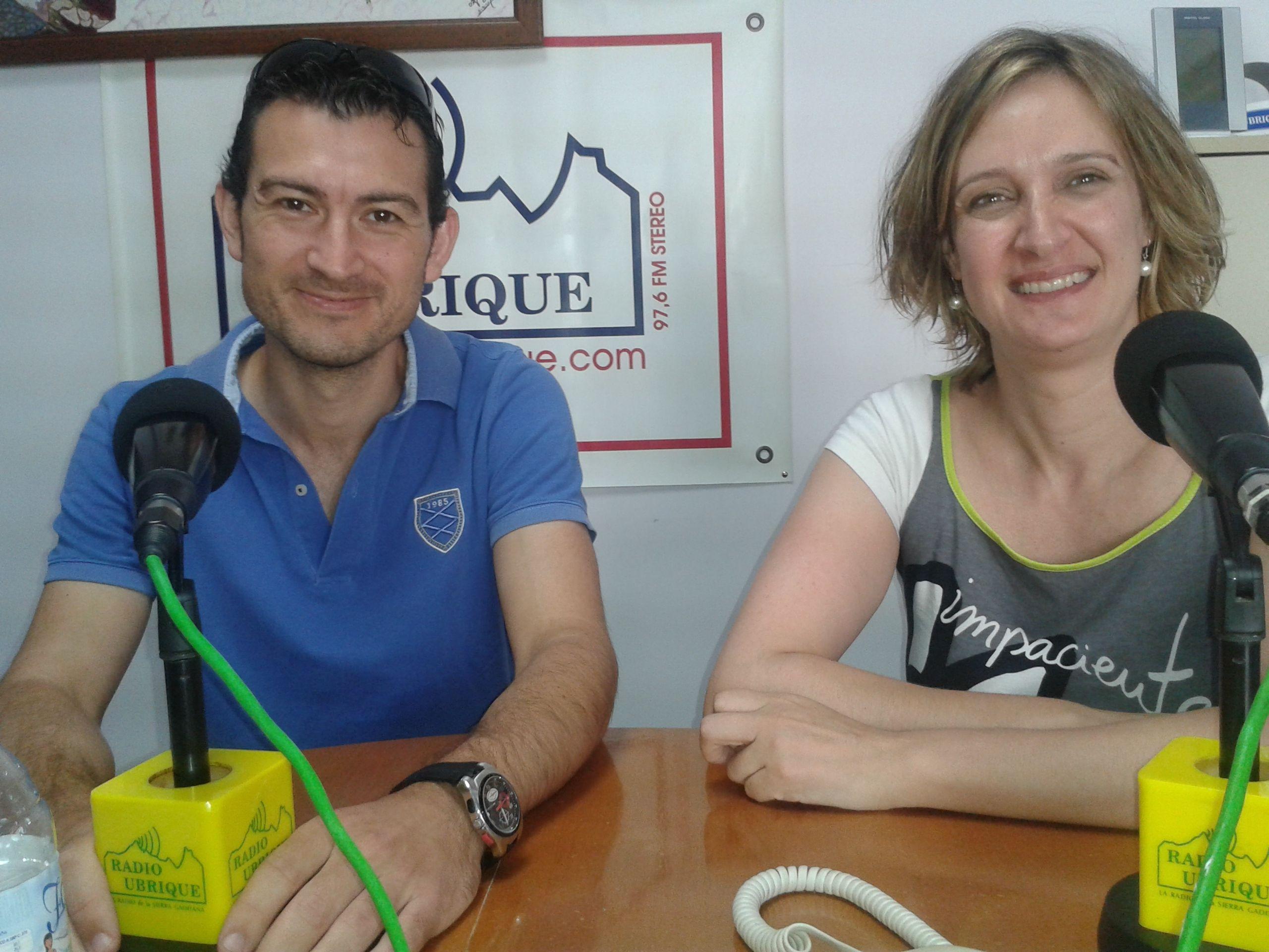 Isabel Gomez y Antonio Ardila