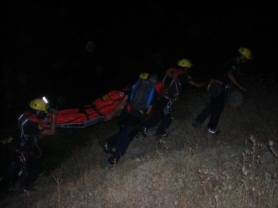 rescate cadaver Algodonales 1