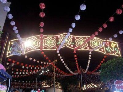 Feria de Ubrique noche