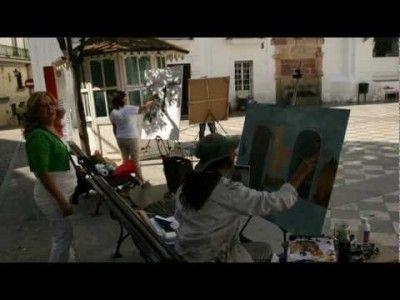 concurso pintura al aire libre