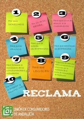 10 razones para reclamar