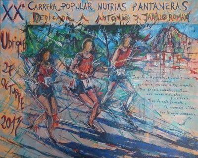 Cartel XX Carrera Nutrias Pantaneras