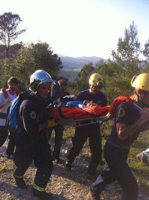 Rescate parapentista El Bosque.GRM