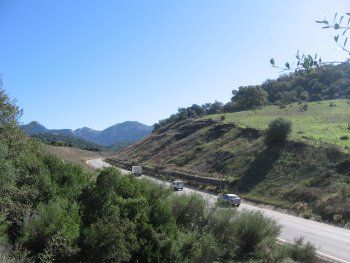 carretera Ubrique El Bosque