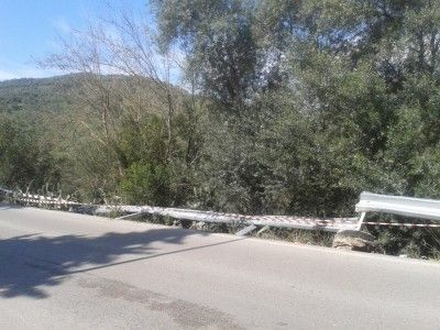 Accidente Avda Cortes 1
