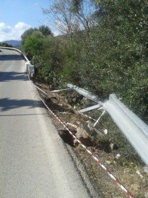 Accidente Avda Cortes 2
