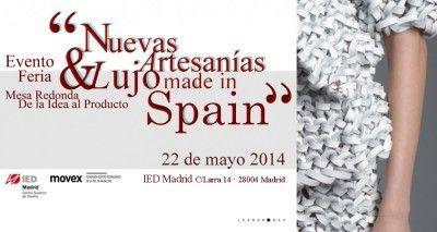 Invitacion-Nuevas_Artesanias_Lujo_Spain_IED_Madrid_Movex