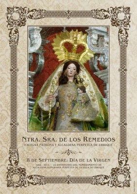Cartel Cultos Virgen de los Remedios 2014 (1)