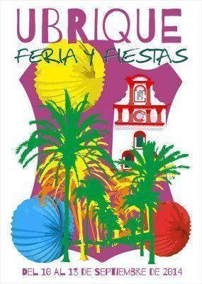 Cartel de la Feria y Fiestas de Ubrique 2014