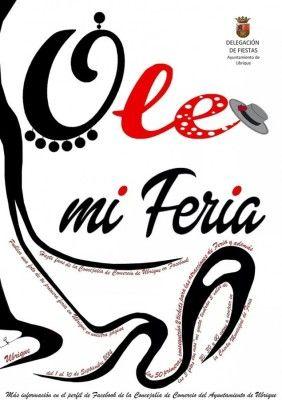 Cartel Ole mi Feria