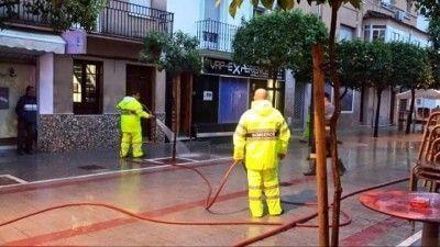 Inundacion 12 bomberos