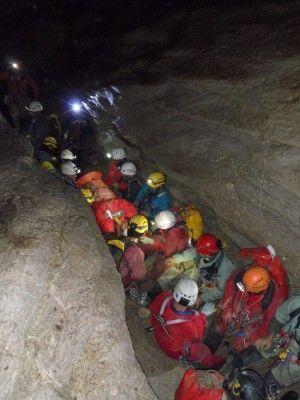 Rescate Cueva Motilla