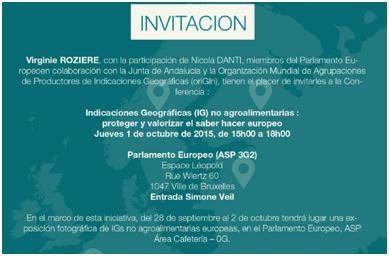 Piel bruselas invitacion