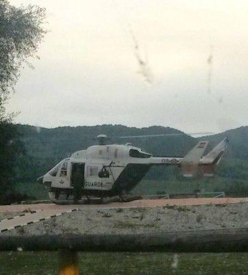 Busqueda helicoptero