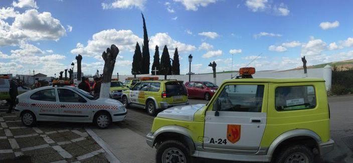 desaparecido Puerto Serrano vehiculos