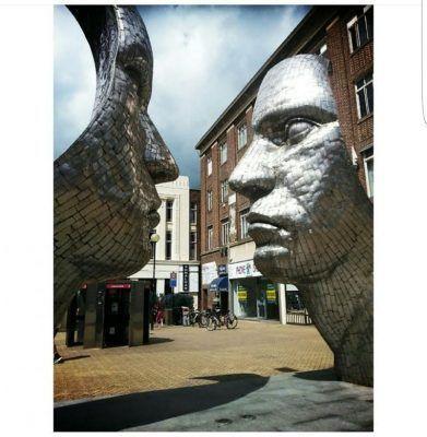 Bedfrd esculturas
