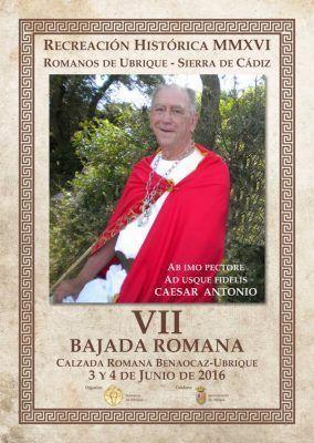 Cartel VII Recreación Romanos de Ubrique