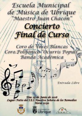concierto fin de curso
