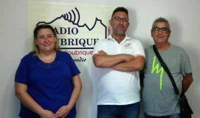 Manolo Castro, YOlanda y Ortega