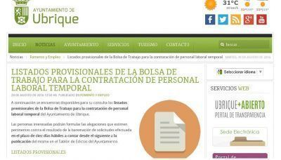 captura web ayto