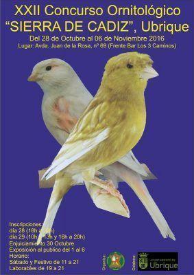 cartel_22_concurso_ornitologico_sierra_cadiz