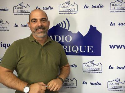Manuel Angel Chacón en Radio Ubrique