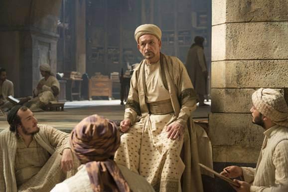 Personaje de la película El Médico (El Médico -Noah Gordon) basado en Avicena